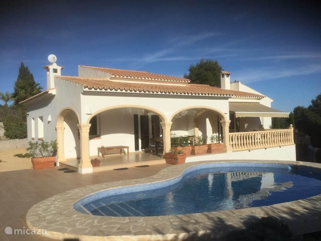 Vacation rental Spain, Costa Blanca, Moraira villa Casa Person
