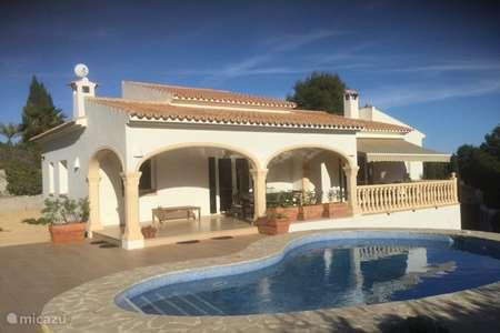 Vakantiehuis Spanje, Costa Blanca, Benitachell - villa Casa Persoon