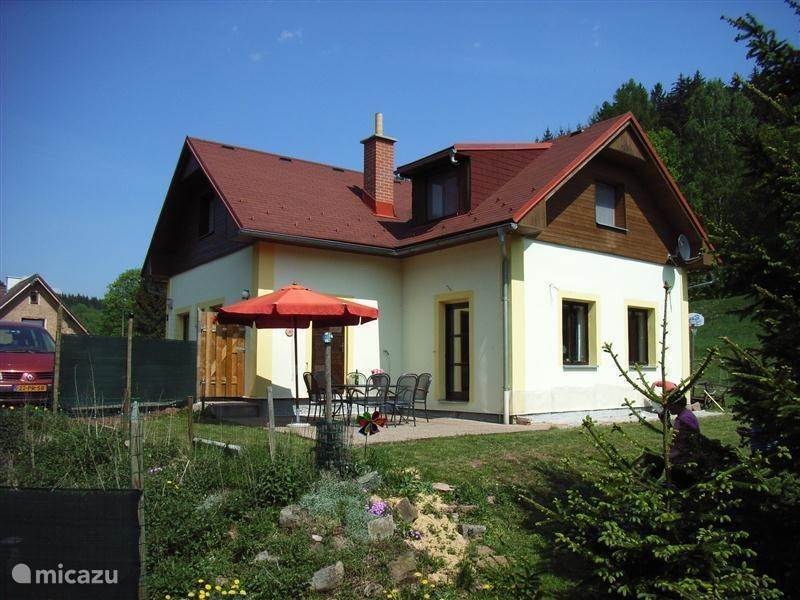 Vacation rental Czech Republic, Giant Mountains, Rudnik holiday house Arnultovice holiday