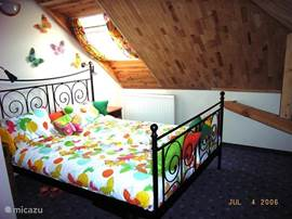 The bedrooms have a different theme. There is a butterfly room, flower room and with a maritime look.
