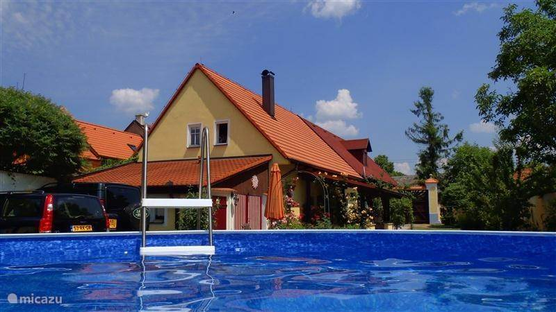 Vacation rental Czech Republic, West Bohemia – farmhouse The Holy Cow