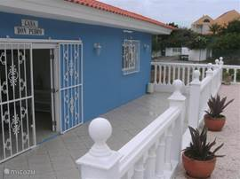 Voorzijde huis met porch