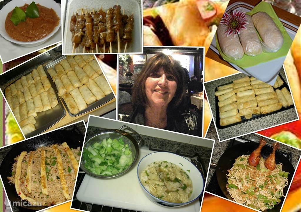 Heeft u geen zin om te koken, dan doen wij dit voor U. Wel 2 dagen van te voren bestellen. Zie documentatie in de Casita.