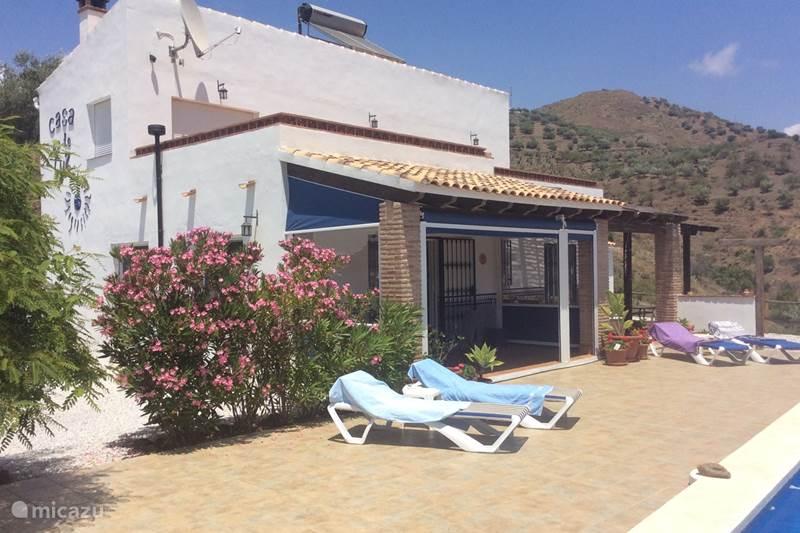 Vakantiehuis Spanje, Andalusië, Arenas Vakantiehuis Casa de la Luz