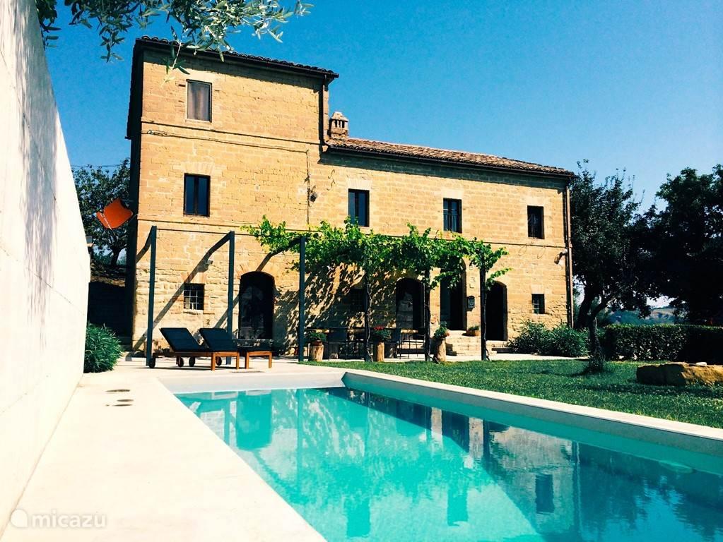Vakantiehuis Italië, Marche, San Venanzo vakantiehuis Casa dei fiaminghi