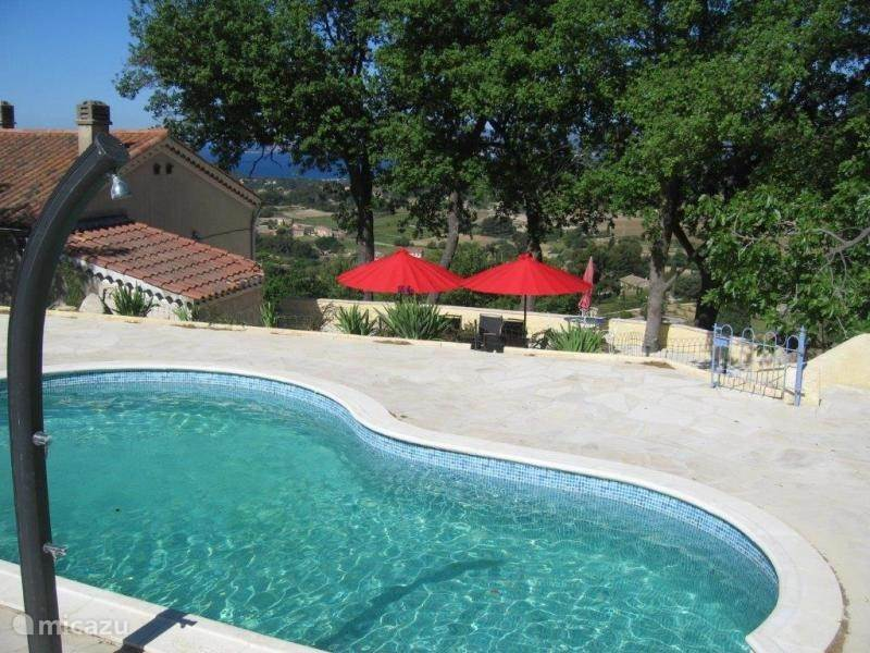 Vacation rental France, French Riviera, La Cadière-d'Azur Holiday house Privacy, Pool, Seaview, Strand, Golf