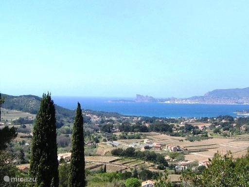 Vakantiehuis Frankrijk, Côte d´Azur, La Cadière-d'Azur Vakantiehuis Sinnewille =privacy, seaview,zwembad