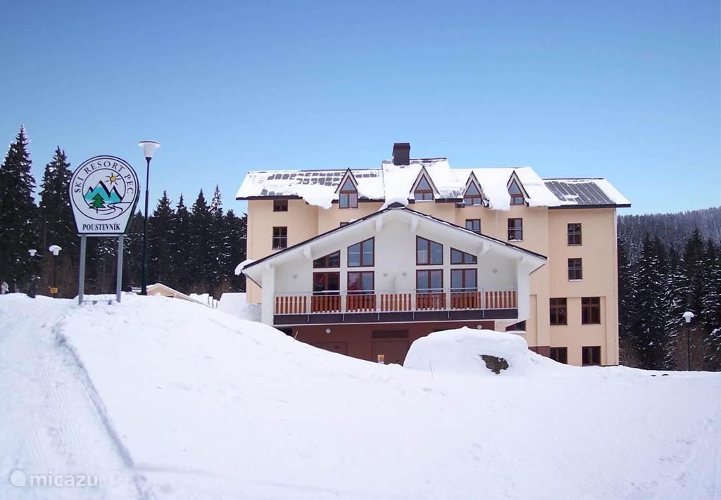 Vakantiehuis Tsjechië, Reuzengebergte, Pec Pod Snezkou appartement Skiresort Pec Poustevnik A45