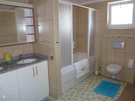 mooie afgewerkte badkamer 9 vierkante m.