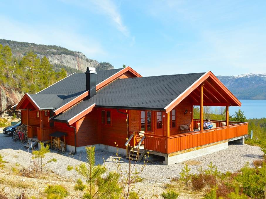 Vacation rental Norway, Telemark, Treungen holiday house Thiotei