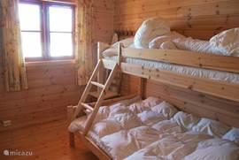 3-persoons slaapkamer op de begane grond