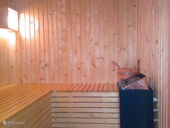 Sauna voor 3 personen