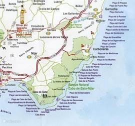 Cortijo de Romualda is een goede uitvalsbasis om het Parque Natrual en de mooie stranden te verkennen