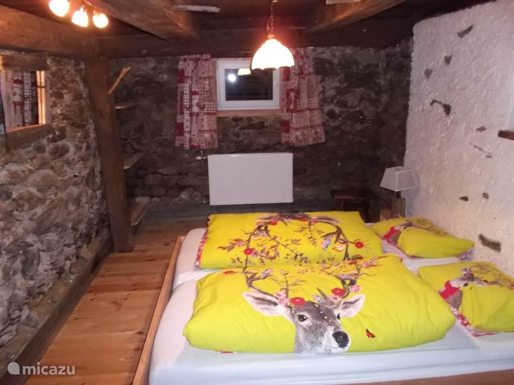 Slaapkamer in souterain