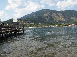 Swim with stunning views, in the warm waters of Lake Milstattersee.