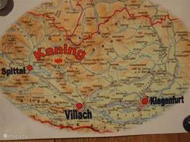 The location of Kaning.