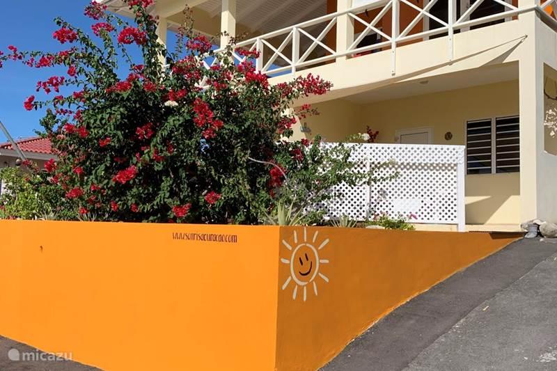 Vakantiehuis Curaçao, Banda Abou (west), Fontein Appartement Sonrisa Curaçao