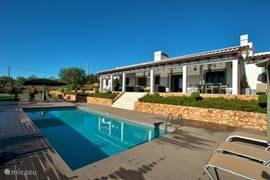 Luxe vrijstaande villa met prive zwembad en ruimte in overvloed om op uw ligbed te genieten van de zon.