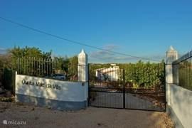 Toegang tot Quinta Vale da Vila.