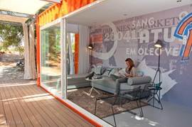 Compleet tot rust komen in de container-living