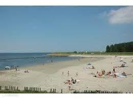 strandje in de zomer