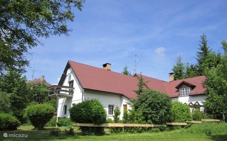 Vakantiehuis Tsjechië, Noord-Bohemen, Huntirov boerderij Vakantiehuis Huntirov