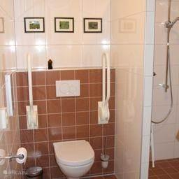 douche en wc zijn rolstoel-vriendelijk