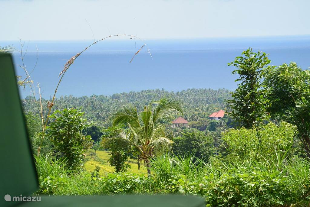 From veranda villa seaview