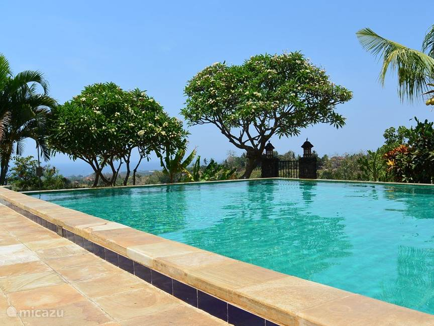Private Infinity Pool with large sun terrace