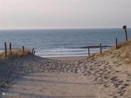 Het Noordzeestrand bij Petten.