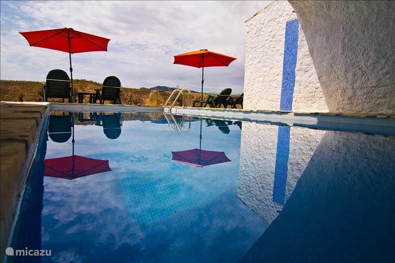 Vakantiehuis Spanje, Andalusië, Pulpite vakantiehuis Cueva Pura Vida 'El Margen'
