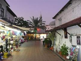 Het oude bazaar van Fethije