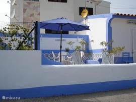 Casa Azul vanaf zeezijde.
