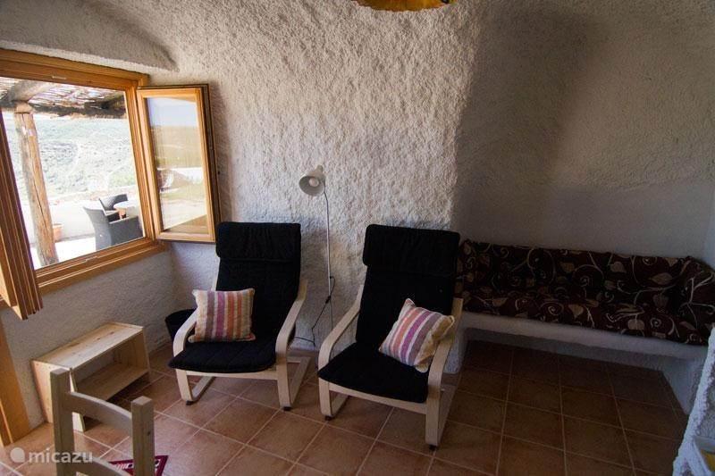 Vakantiehuis Spanje, Andalusië, Pulpite Vakantiehuis Cueva Pura Vida 'Venta Quemada'