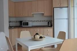 Keuken appartement Burriana 1