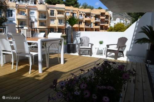 Privé-terras appartement Burriana 2