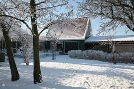 ook prachtig in de winter, vanuit de huiskamer direct op de schaats om de mooiste tochten te maken.