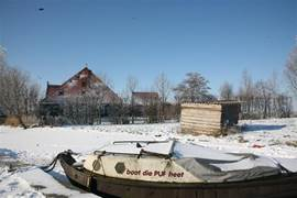 omringd door water en alle mogelijkheden om te varen, schaatsen of kanoen
