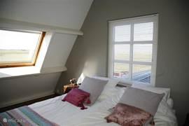 uitzicht vanuit slaapkamer