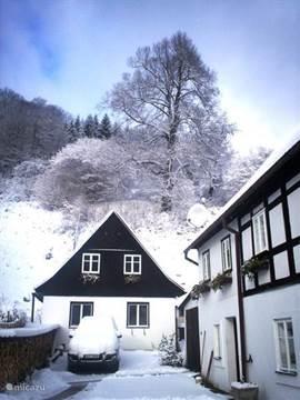 vooraanzicht winter