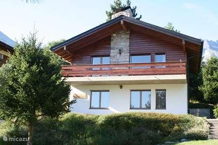 Vakantiehuis Zwitserland – chalet La Soldanelle