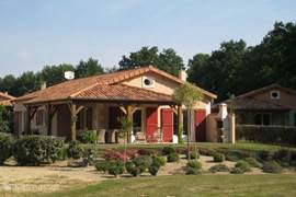 Spacious villa on large, well maintained plot. The gardens are beautiful flowering plants and shrubs.