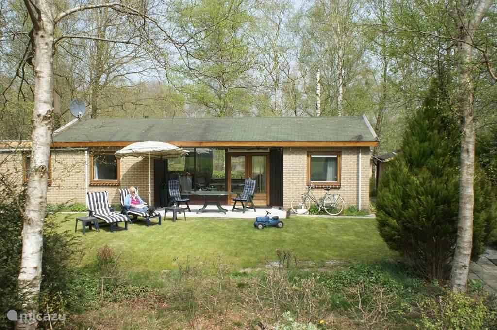 De omgeving van de bungalow