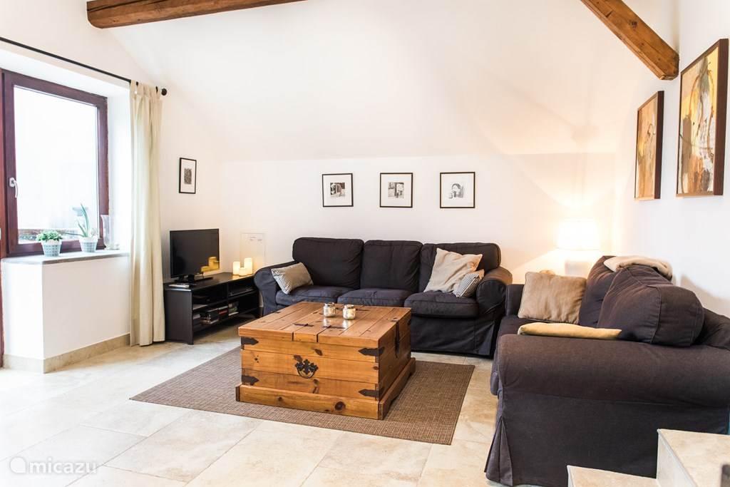 Vakantiehuis Slovenië, Julische Alpen, Kobarid Appartement Vakantiehuis Maharac app. Krn