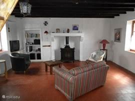 Gezellige woonkamer van Maison Ternant