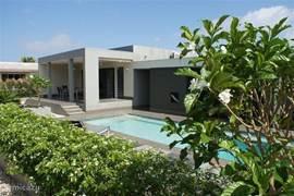 Heerlijk genieten van de Villa en Bonaire....