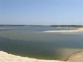 de lagune van Santo Andre