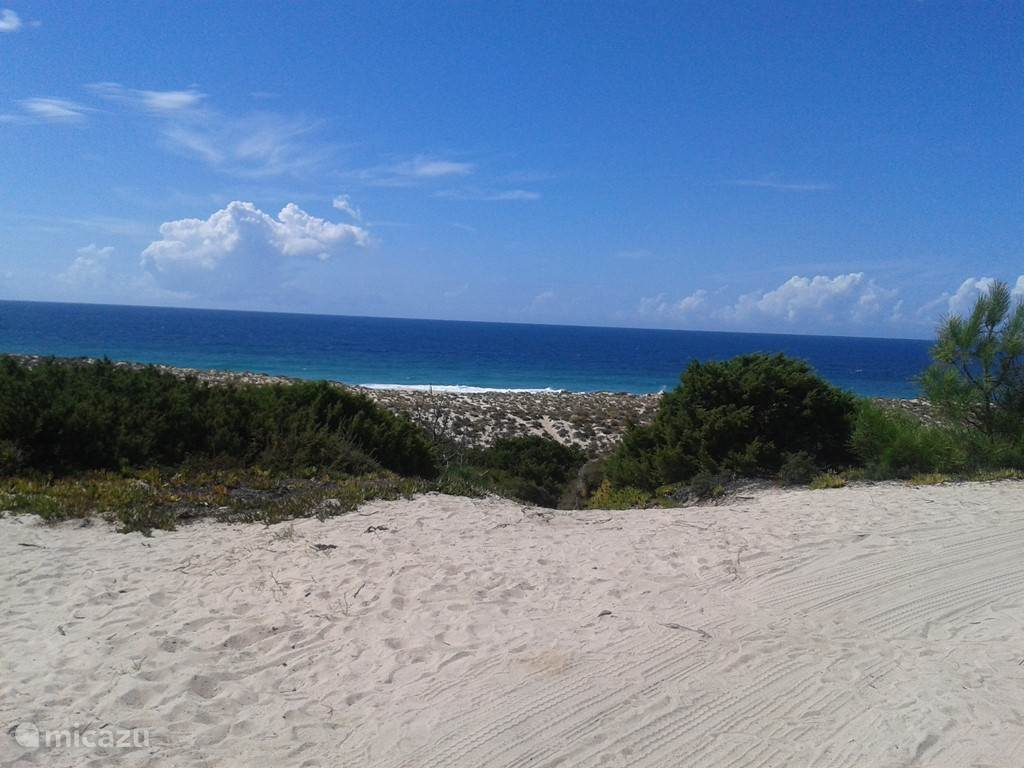 duinen en strand Melides 7 minuten rijden.