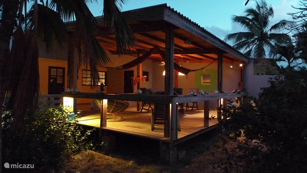 Vacation rental Bonaire, Bonaire, Belnem Holiday house Kas Blau