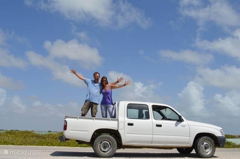 Vacation rental Bonaire, Bonaire, Belnem Holiday house Kas Blau